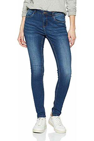 Noisy May Women's Nmjen Nr S.s Shaper Jeans Vi021mb Noos Skinny (Medium Denim)