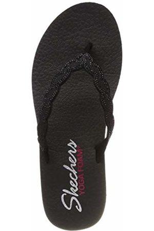 Skechers Women's Meditation-Glam Gladiator Flip Flops, ( BBK)