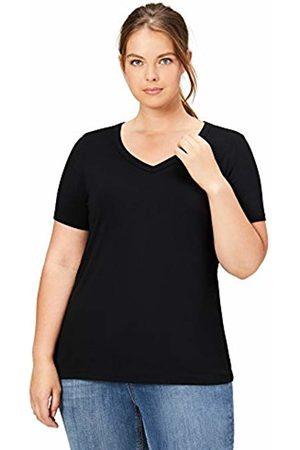 Daily Ritual Women's Plus Size Jersey Short-Sleeve V-Neck T-Shirt