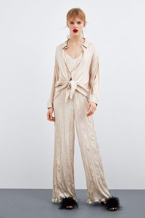 4c3549e659 Creased-effect jumpsuit