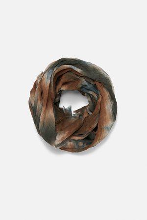 Zara Tie-dye print scarf