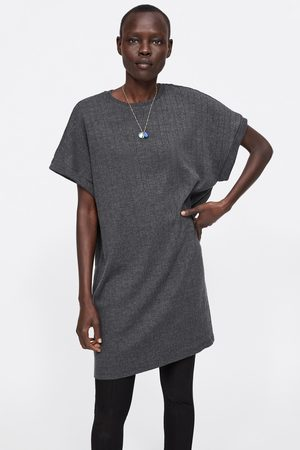 Zara Dress with turn-up sleeves