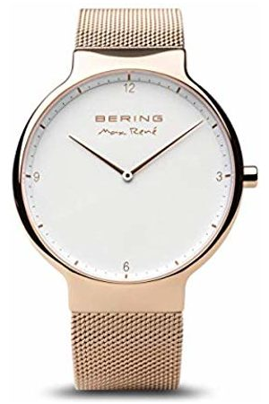 Bering Mens Analogue Quartz Watch with Stainless Steel Strap 15540-364