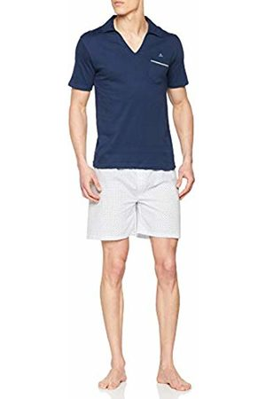 ALAN BROWN Men's Ah.True.psh Pyjama Set, Marine