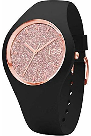 Ice-Watch ICE glitter Rose-Gold - Women's wristwatch with silicon strap - 001353 (Medium)