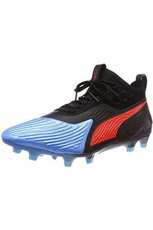 Puma Men Shoes - Men's One 19.1 Syn Fg/Ag Football Shoes, (Bleu Azur- Blast )