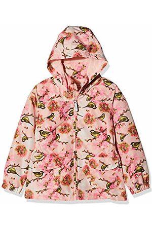 Name it Girls' NMFMELLO Jacket Bird Mehrfarbig Strawberry Cream