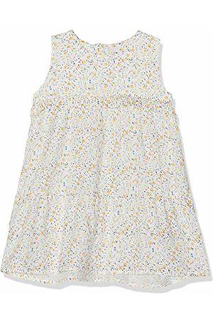 Name it Baby Girls' NBFDAMITA Spencer Dress, Mehrfarbig Snow