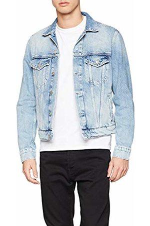Pepe Jeans Men's Pinner Denim Jacket, (Denim Md0)