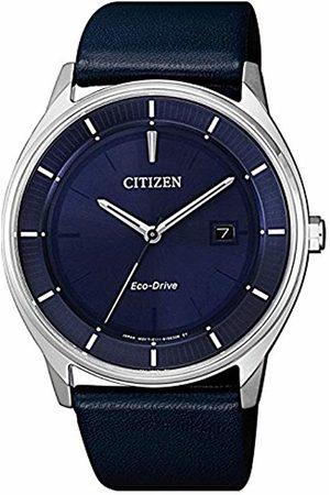 Citizen Mens Analogue Quartz Watch with Leather Strap BM7400-12L