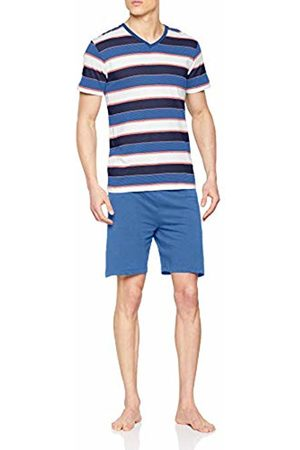 ALAN BROWN Men's Ah.flam.psh1 Pyjama Set, Bleu