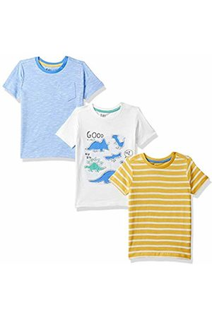 Mothercare Boy s Dinosaur and Stripe T-Shirts - 3 Pack (Brights Multi ... 86b3c8968