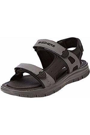 Skechers Men's 51874 Ankle Strap Sandals, ( /Charcoal)