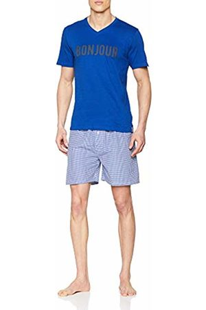ALAN BROWN Men's Ah.Fran.psh Pyjama Set, Bleu
