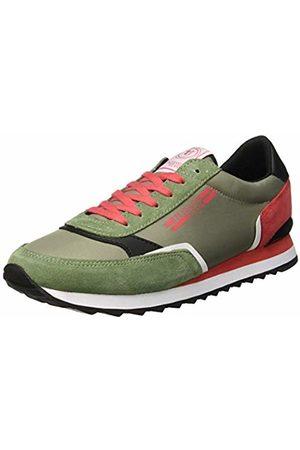 Trussardi Jeans Men's Running Action Label Gymnastics Shoes