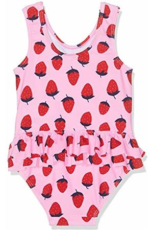 Mothercare Girl's Strawberry Frill Swimsuit 130