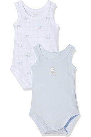 chicco Baby Boys' Set 2 Body Senza Maniche Bodysuit