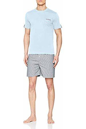 ALAN BROWN Men's Ah.True.psh1 Pyjama Set, Bleu Cl
