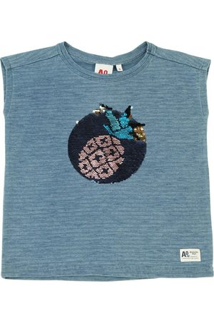 American Outfitters Embellished Cotton Jersey T-shirt