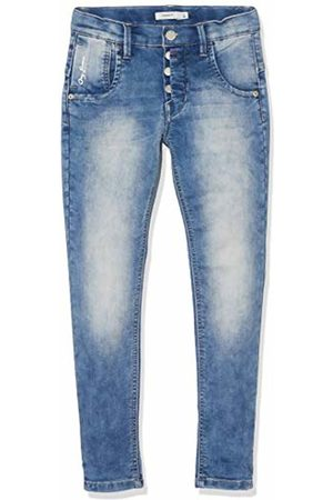 Name it Boy's Nkmbabu Dnmanord 2182 SWE Pant Jeans, Medium Denim