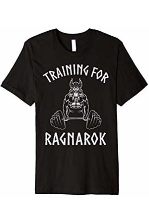 Viking Gym by SukunTees Viking Training For Ragnarok Shirt Norse Gym T-Shirt