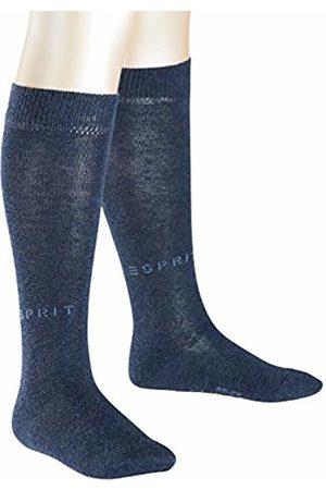 Esprit Kids Foot Logo 2-Pack knee-highs, 2 pairs, UK size 9-11.5 (EU 27-30), , cotton mix - Skin friendly cotton