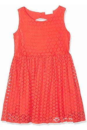 Name It Girls' NKFDORIT SL Dress, Emberglow