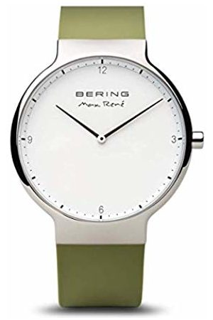 Bering Men's Analogue Quartz Watch with Silicone Strap 15540-800