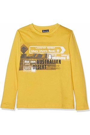 Brums Boy's T-Shirt Jersey Con Stampa Kniited Tank Top (Giallo 01 440) 116 (Size: 6A)