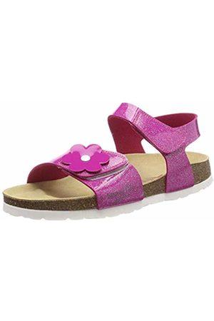 Superfit Girls' Fussbettpantoffel Open Back Slippers (Rosa 55) 10 UK Child