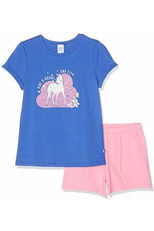 Sanetta Girl's Pyjama Short Set, (Cornflower 5357)