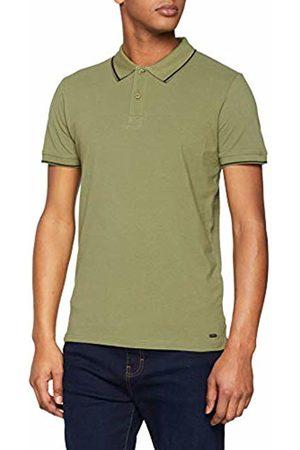 Esprit Men's 029CC2K012 Polo Shirt, (Khaki 350)