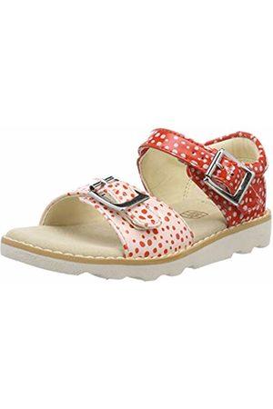 Clarks Girls' Crown Bloom T Sling Back Sandals, ( -)