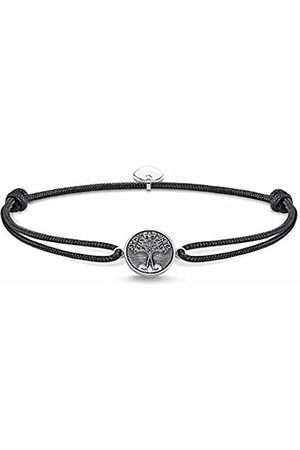 Thomas Sabo Unisex-bracelet Little Secret Tree of Love 925 Sterling silver blackened LS089-907-11-L22v