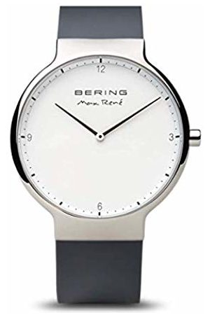 Bering Men's Analogue Quartz Watch with Silicone Strap 15540-400