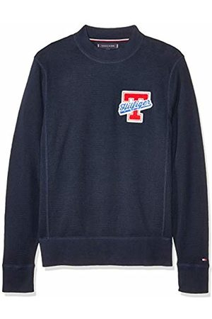 Tommy Hilfiger Men's Relaxed Fit Badge Sweater Jumper
