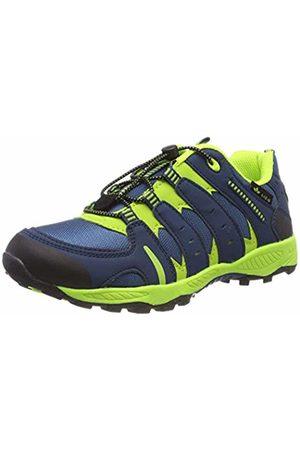 LICO Men's Fremont Low Rise Hiking Shoes, Petrol/Lemon
