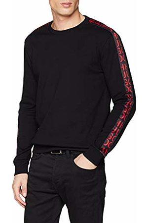 HUGO BOSS Men's Doby Sweatshirt, ( 001)