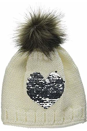 Döll Girl's Pudelmütze Strick Hat, (Snow 1050)