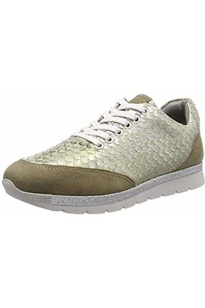Marc Women Trainers - Women's Liv Low-Top Sneakers, (Suede-Pittone Metallic 00770)