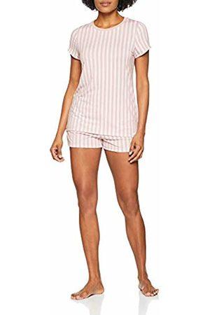Skiny Women's Roots Sleep Pyjama Kurz Set 10 (Size: 36)