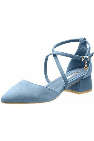 Xti Women's 32094 Closed Toe Heels, Jeans