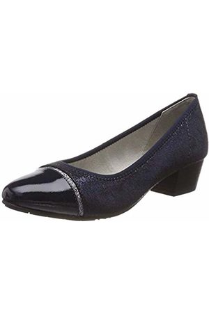 Jana Women's 8-8-22300-22 Closed-Toe Pumps (Navy Glitter 898) 4 UK