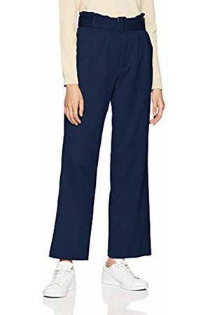 SPARKZ COPENHAGEN Women's TOVA Paper Waist Pants Trousers (Navy 780) W25/L27 (Size:XS)