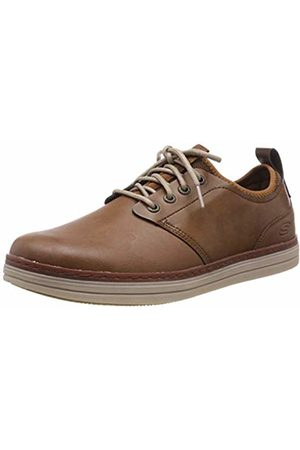 Skechers Men's Heston- ROGIC Oxfords, Tan