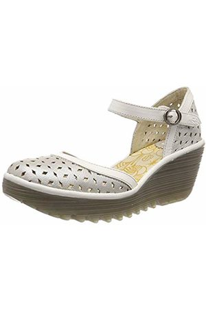 Fly London Women's YVEN029FLY Closed Toe Heels /Offwhite 006