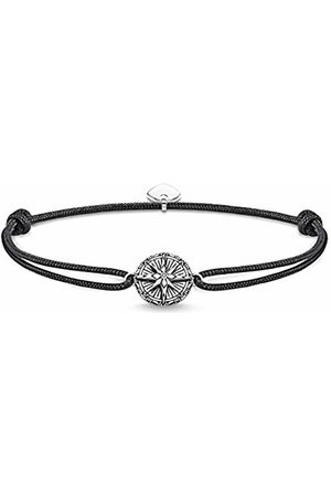 Thomas Sabo Unisex-bracelet Little Secret Vintage compass 925 Sterling silver blackened LS088-907-11-L22v
