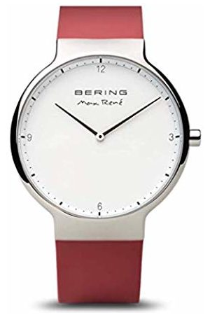 Bering Men's Analogue Quartz Watch with Silicone Strap 15540-500