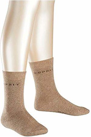 Esprit Kids Foot Logo 2-Pack socks, 2 pairs, UK size 3-5 (EU 35-38), , cotton mix - Skin friendly cotton, reinforced stress zones