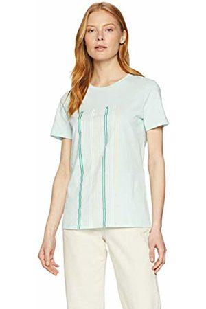 HUGO BOSS Women's Teblurred T-Shirt, (Open 462)